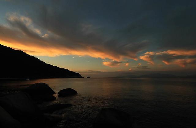 Sunrise at Ninh Van Bay - Vietnam