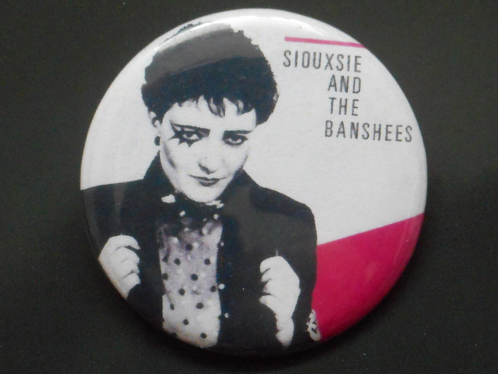 Vintage Siouxsie And The Banshees Badge Vintage 1980s Bans Flickr