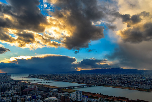 El cielo y el río.