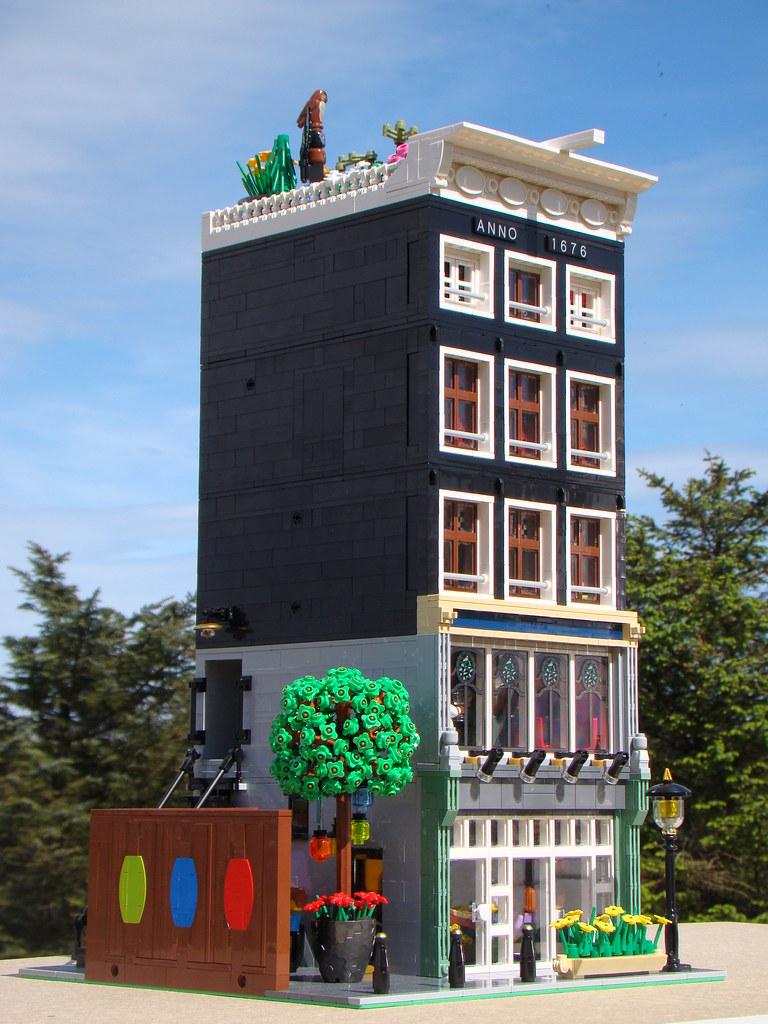 Amsterdam Pizza House - Custom Lego Modular Building   Flickr