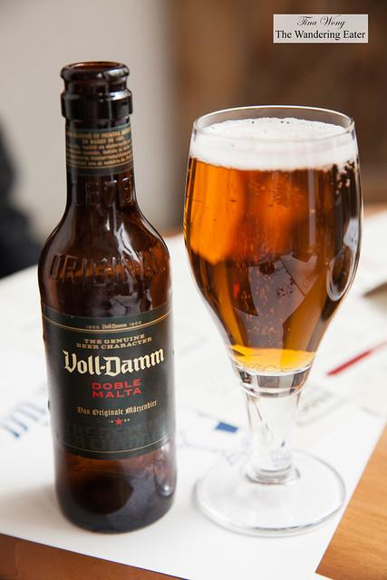 Voll-Damm Double Malta Beer