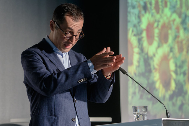 Cem Özdemir, Bundesvorsitzender von Bündnis 90/die Grünen.  Foto: stephan-roehl.de