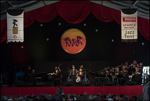 Torkestra in the Jazz Tent: Jazz Fest day 4 on May 4, 2017. Photo by Ryan Hodgson-Rigsbee www.rhrphoto.com