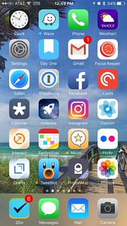 iPhone home screen, Cinco de Mayo 2017 edition | by retrophisch