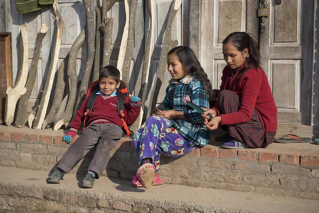 NPL - Nepalese family - Bhaktapur