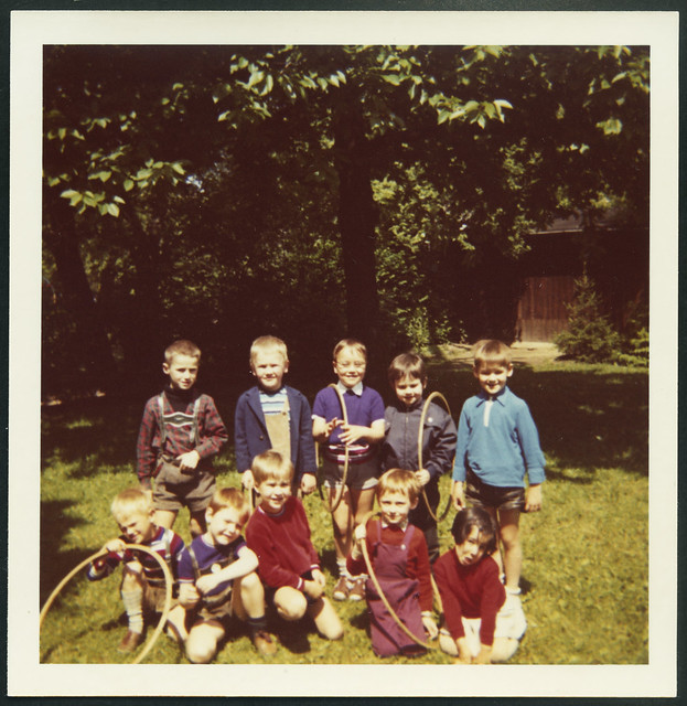Archiv M711 Holz-Reifen-Spiel, 1960er