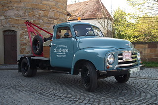 1952-60 Opel Blitz Abschleppwagen _c