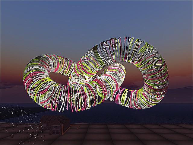 LEA Sandbox Art - Double Helix Slinky