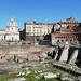 Řím, Trajánův sloup a Trajánovo fórum, foto: Petr Nejedlý