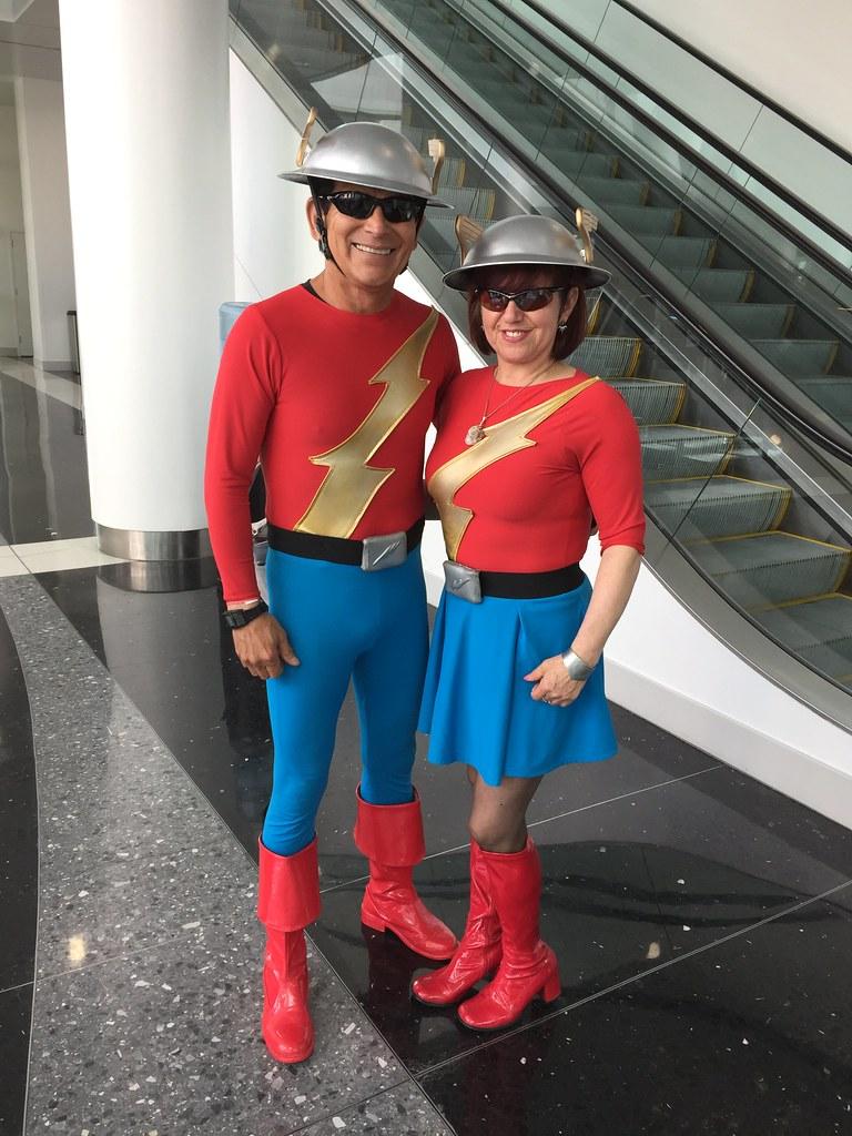 Mr & Mrs Flash
