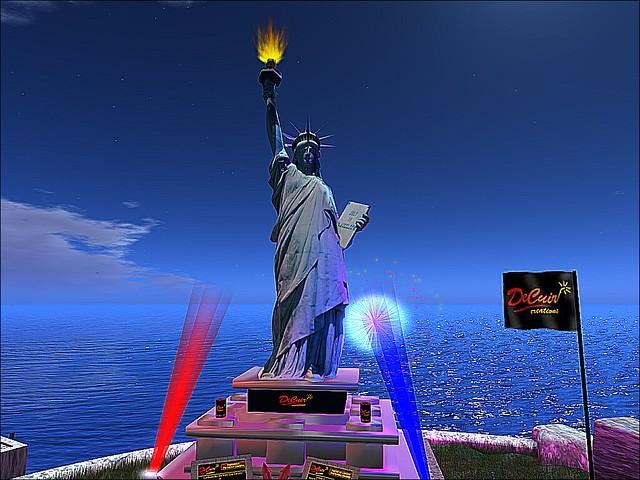 Lady Liberty Salutes America