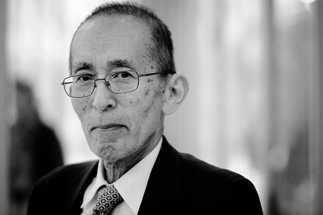 "Soh Horie (""Hibakusha"" (Überlebender) des Atombombenabwurfes auf Hiroshima) Foto: Stephan Röhl"