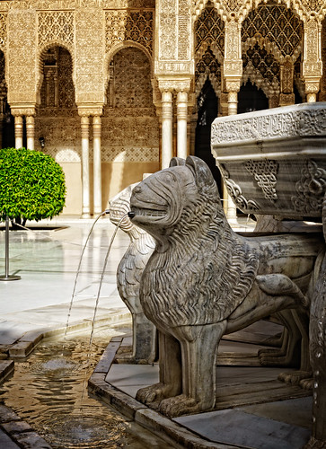 The Lion fountain | by Tigra K