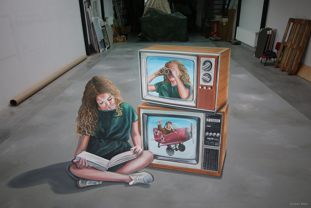 leonkeer-double-or-nothing | 3D anamorphic art 'Double or No… | Flickr