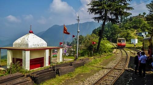 kalka shimla railway himachalpradesh india shoghi