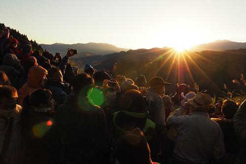 olympus penf leica dg 12mm f14 sunrise dusk 日出 阿里山 自忠 alishan 嘉義 chiayi 台灣 taiwan dawn 破曉 拂曉 天空 mountain alimountain 雲海