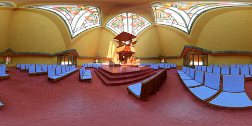 Trinity chapel by Frank Lloyd Wright | by Hooked On The Past
