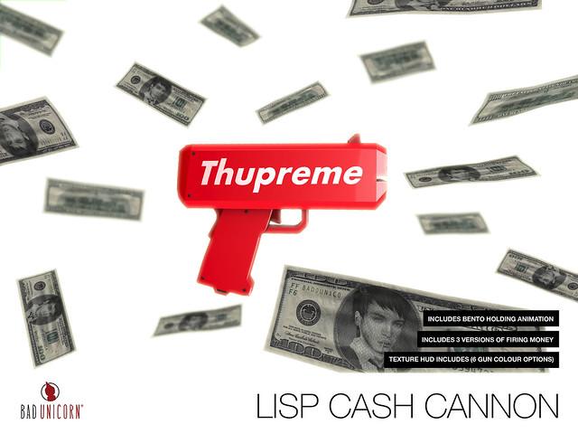 OUT NOW! Lisp Cash Cannon @ TMD
