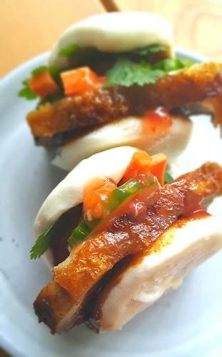 Roast pork. Bao. Crispy crackling   by michtsang