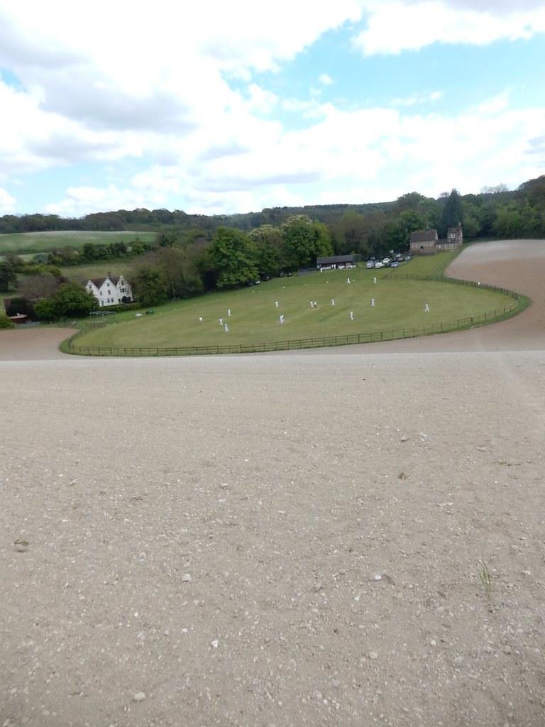 The cricket field, Luddesdown Cuxton Circular