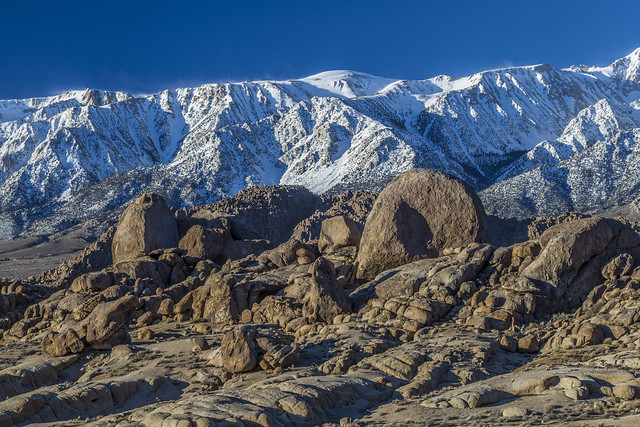 Eastern Sierra winter