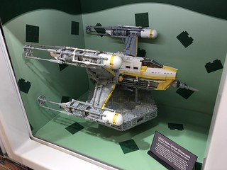 Sparkbee fighter in Leicester Square Lego brand store community showcase | by hhcBrick