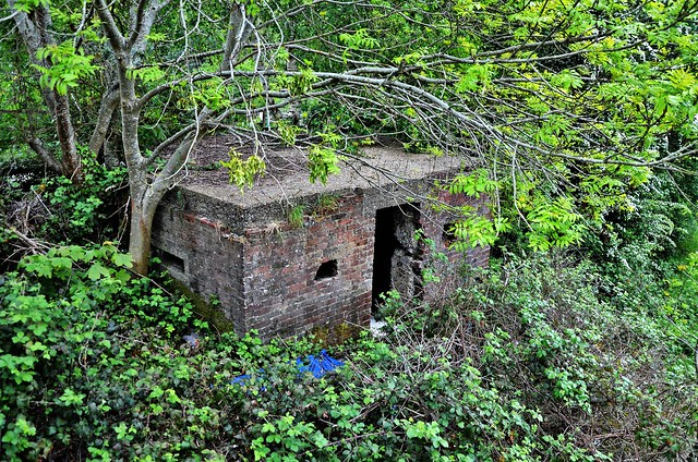 Southern Railway Pillbox, Farnborough