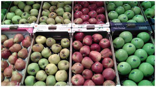 Frutta al supermercato