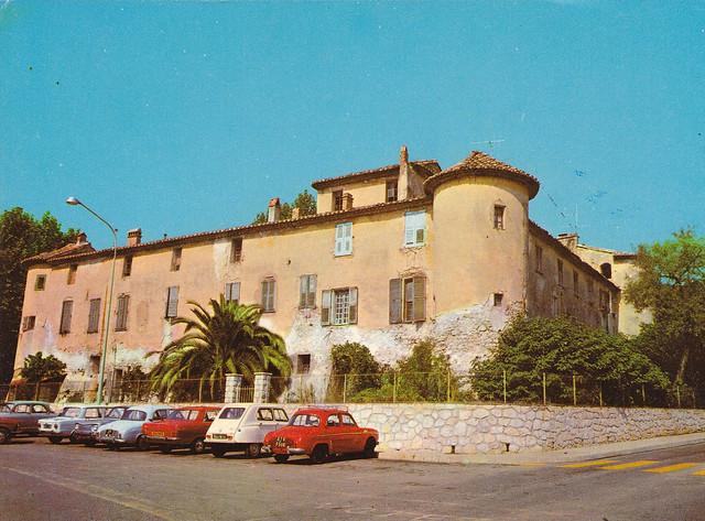Postcard Vallauris Le Château (06 Alpes Maritimes) Musée national, Oeuvres de Picasso Editions Y.P.A. Nice 1973a