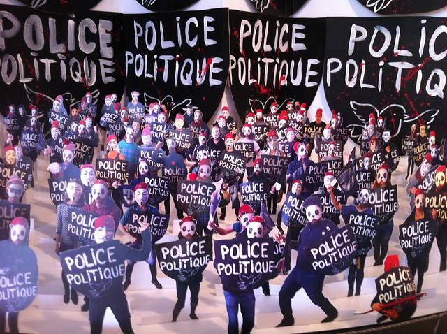 Fraternité contre la police politique INSTALLATION