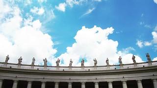 FMS Photo A Day May 3 - Skyline #fmspad #fmsphotoaday #fms_skyline #rome #italy #ladinitaly2017 #catchingup #betterlatethannever #vatican #vaticancity   by Laurel Storey, CZT