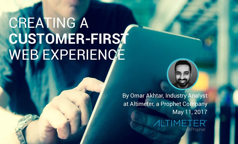 Creating A Customer-First Web Experience Cover