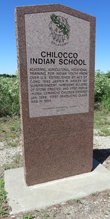 Chilocco Indian School Marker (Kay County, Oklahoma)