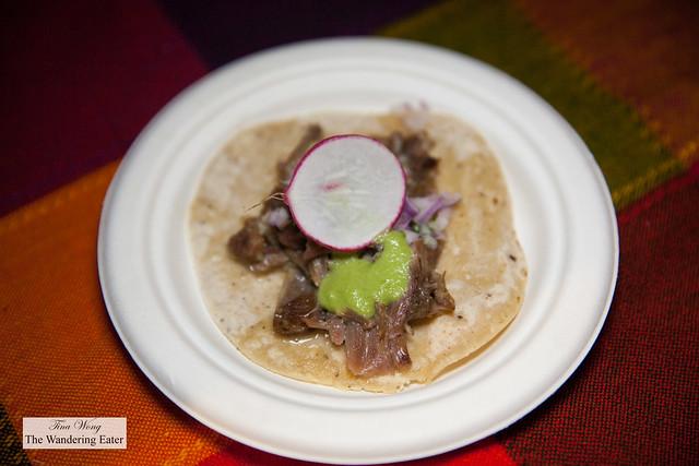 Taco de Barbacoa by Ofrenda Cocina Mexicana