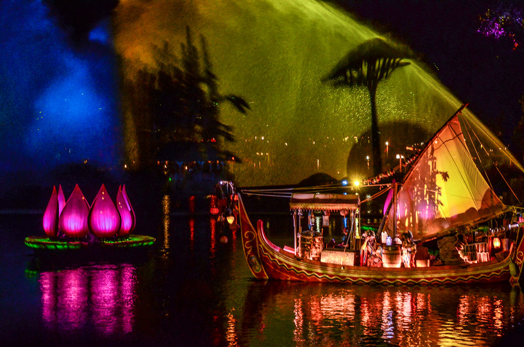 Boat flower projection RoL