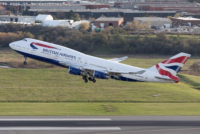 British Airways Boeing 747-400 G-CIVX [YYZ]