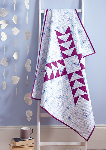 Star Crossed quilt by Amanda Castor of Material Girl Quilts featured in Love Patchwork & Quilting Issue 47 (photo used with permission of LPQ) | by Material Girl Quilts