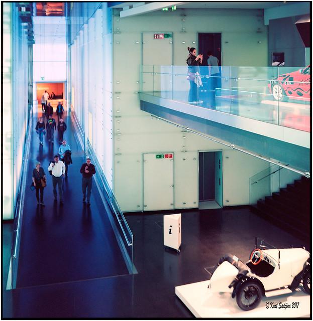 In the BMW Museum_Rolleiflex 3.5B