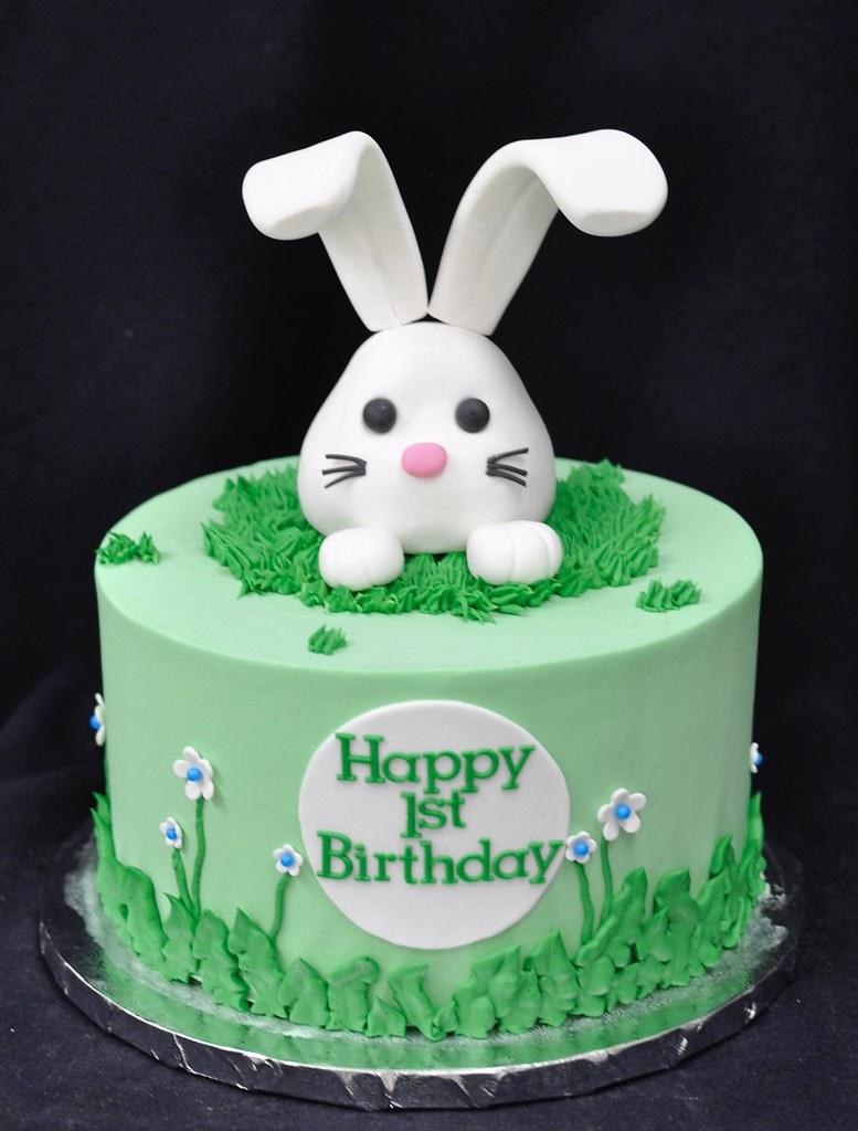 Strange Bunny Birthday Cake Jenny Wenny Flickr Birthday Cards Printable Riciscafe Filternl