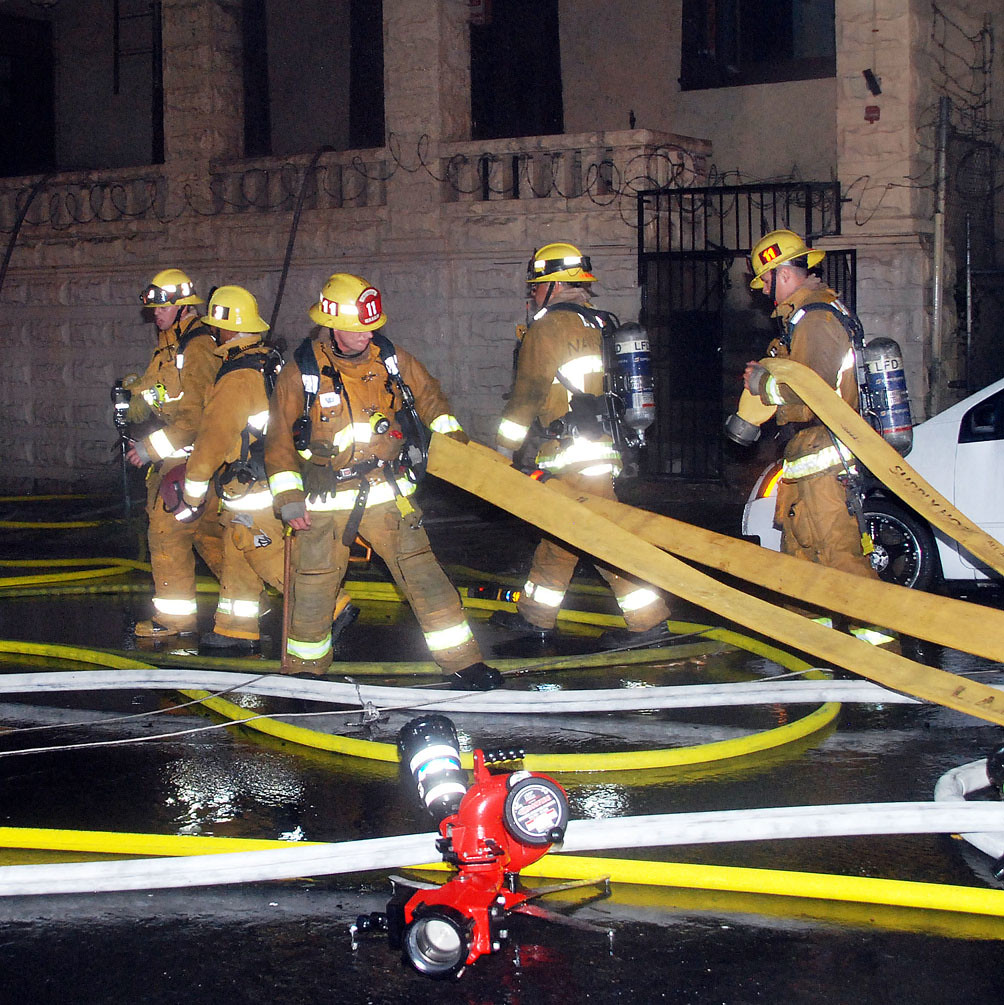 LAFD Limits Westlake Inferno To Two Abandoned Buildings