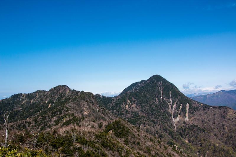 皇海山 登山