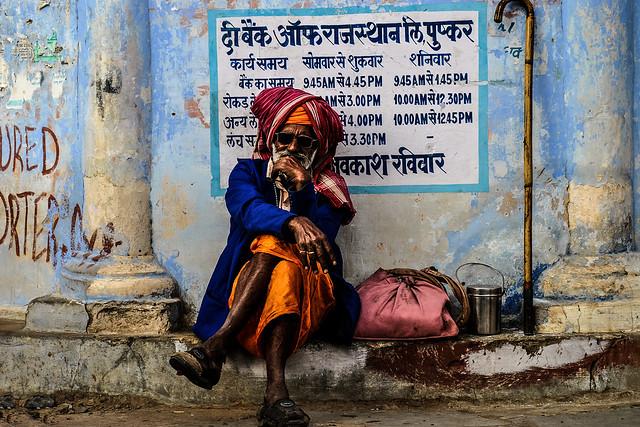 Sadhu, Pushkar