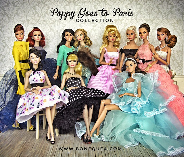 Poppy Parker goes to Paris. Bonbon Collection