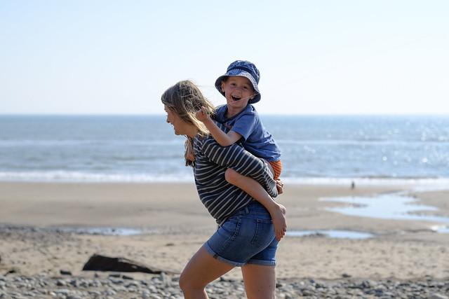 Family Beach Time - DSCF2701