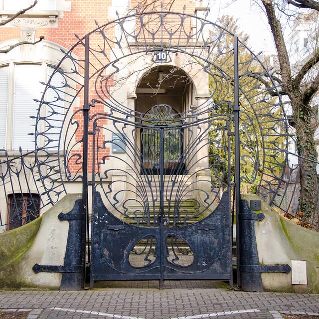 Portail de la Villa Knopf
