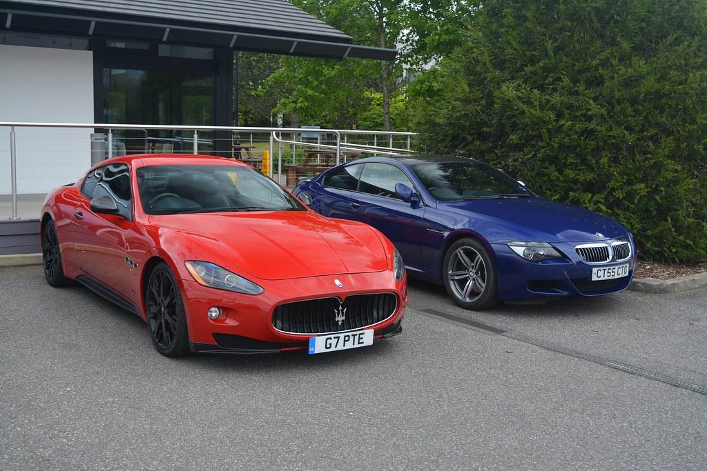 Maserati GranTurismo S MC Sportline and BMW M6