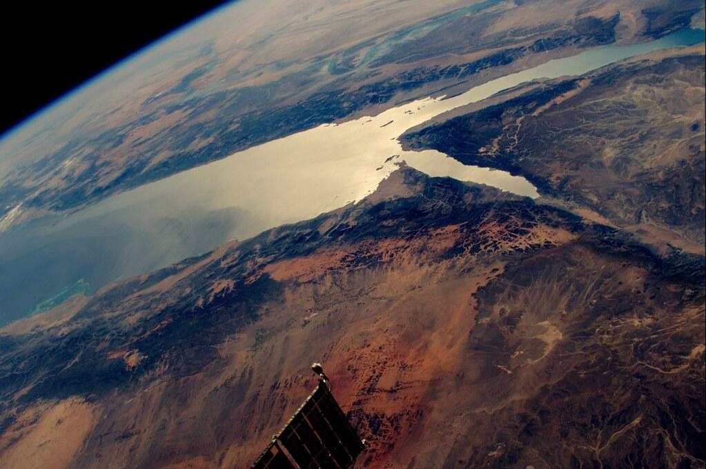 The Red Sea, Egypt & Saudi Arabia | International Space St