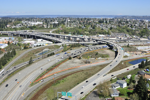I-5 - SR 16 Realignment - HOV Structure and Connections - an