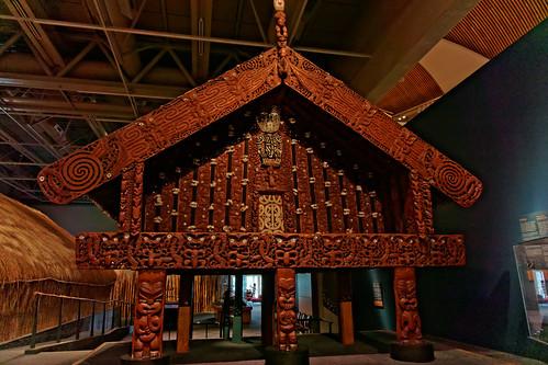 Dom spotrkania Maori | Maori meeting house | by addictedtotravelpl