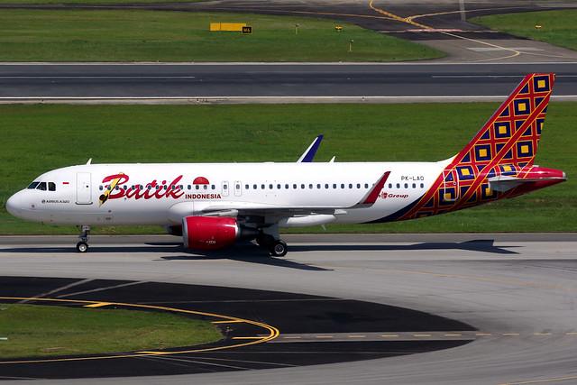 Batik Air | Airbus A320-200 | PK-LAO | Singapore Changi